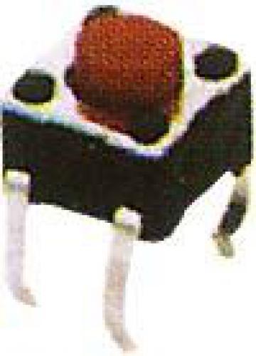Mikrospínač 4,5x4,5mm v=3,8mm