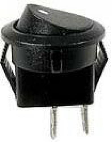 Vypínač kolébkový OFF-ON 1pol.250V/1A kulatý mini