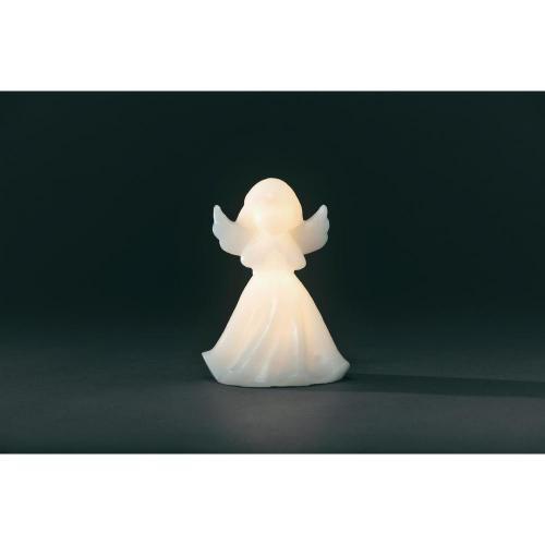 Vánoční LED anděl Konstsmide se světelným senzorem