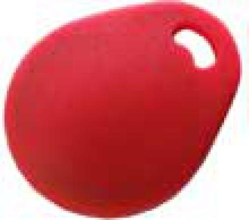 Klíčenka RFID 125kHz - červená