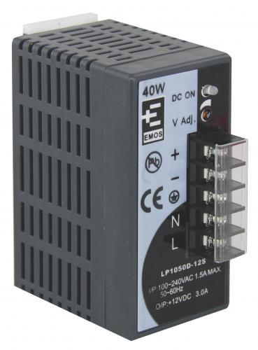 Zdroj pro CCTV  12VDC/10A 18 kanálový