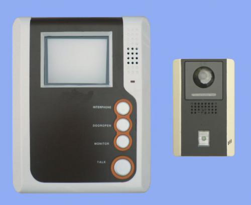Dveřní videotelefon, plastový kryt kamery, HF, IR