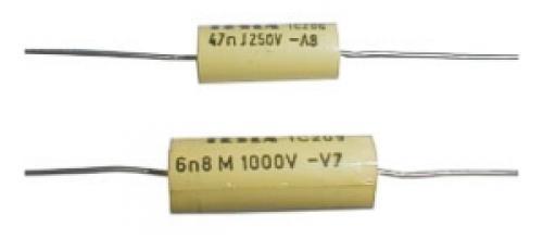 Kondenzátor svitkový 150N/100V TC205   C  *