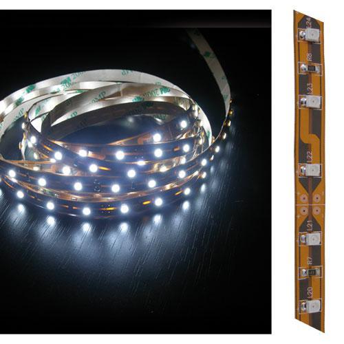Led pásek samolepící bílý 12V šířka 8mm LED3528 5cm