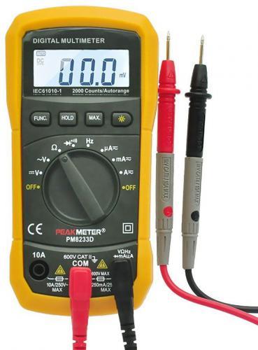 Multimetr PM8233E /MS8233E/ automat