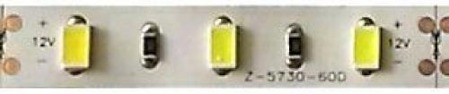 LED pásek 10mm,bílý,60xLED5730/m,IP20, modul 5cm, DOPRODEJ