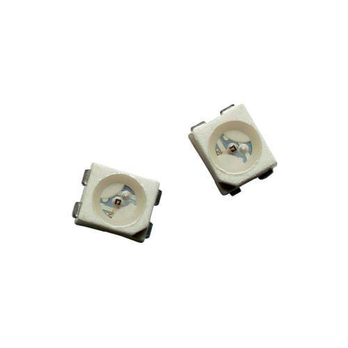 SMD LED PLCC4 Avago Technologies, HSML-A401-U40M1, 50 mA, 2,2 V, 120 °, 400 mcd, oranžová