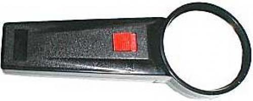 Lupa s osvětlením,průměr 65mm,napájení 2xAA
