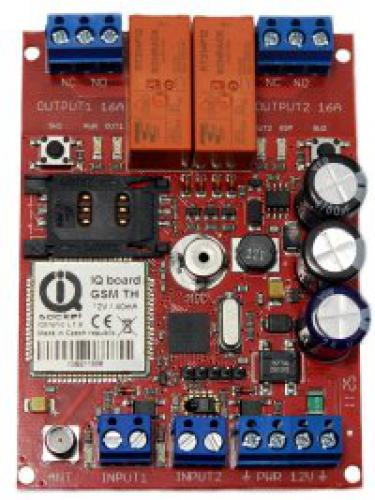 GSM SPÍNAČ IQSB-GSM900-LITE KIT In/OUT GSM modul s 2xrelé