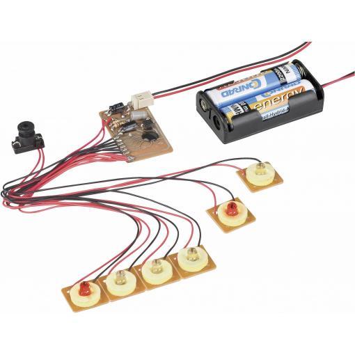 6kanálové běžící LED světlo s detektorem pohybu, 3 V/DC