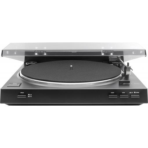 USB gramofon Dual DT 210-1 USB, řemínkový pohon, černá