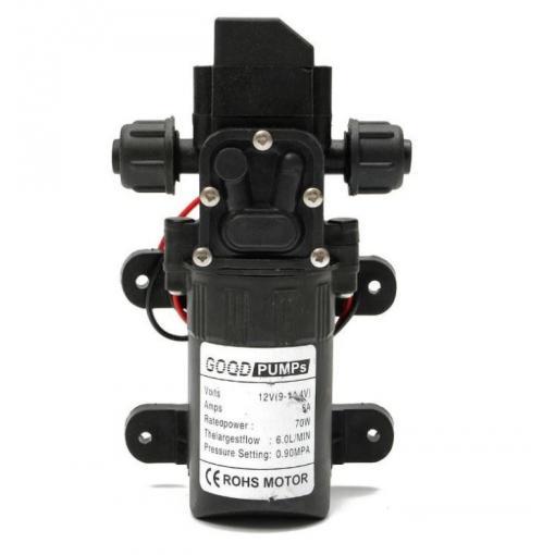 Čerpadlo FL-3308 membránové samonasávací, 6l/min, 12V/70W