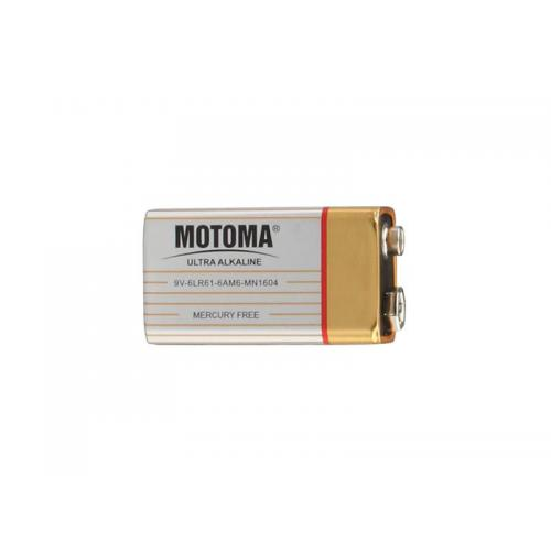 Baterie alkalická 9V MOTOMA Ultra Alkaline