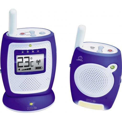Dětská chůvička m-e DBS 5, dosah až 400 m, 2,4 GHz