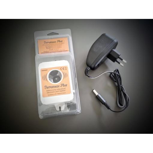 Ultrazvukový odpuzovač - plašič PLUS (myší, potkanů, krys, lasiček a kun)