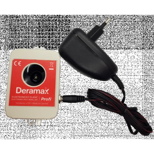 Ultrazvukový odpuzovač - plašič PROFI - myší, potkanů, krys, kun včetně napájecího adaptéru v ceně