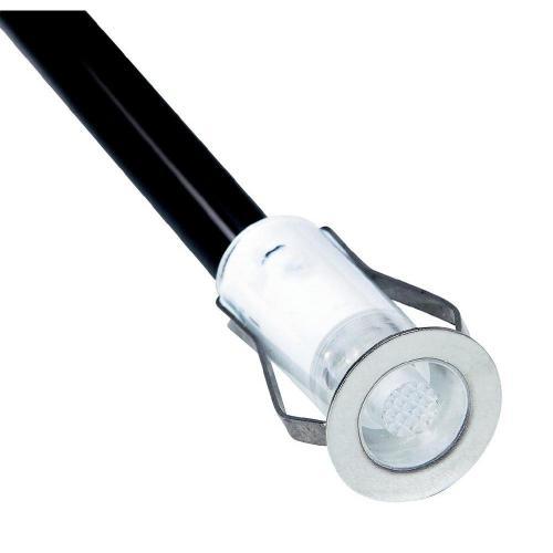 Sada vestavných LED svítidel Brilliant Cosa 15, teple bílé světlo, nerez (G03090/75)