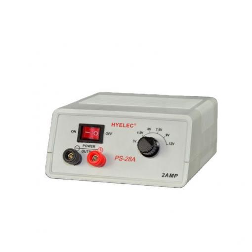 Napáječ PeakMeter PS-28 3-4,5-6-7,5-9-12V/2A spínaný