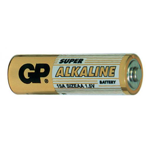 Baterie GP Super Alkaline LR6 (AA, tužka)