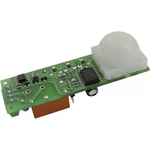 PIR senzor SMD s časovačem B + B Thermo-Technik PIR-ASIC-FRES, 12 V/DC, Max. dosah 10 m