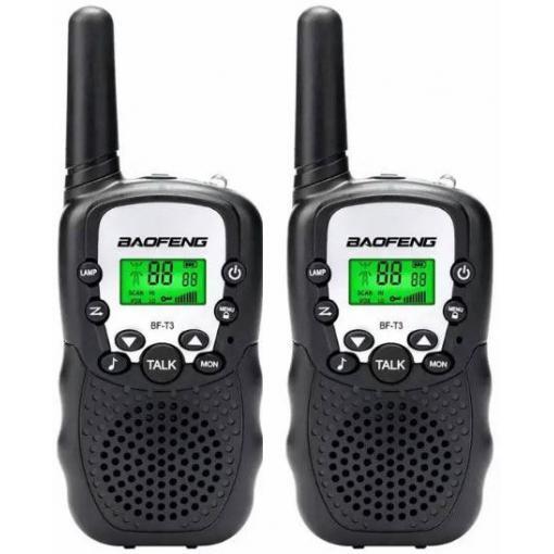 Radiostanice PMR 446MHz Baofeng BF-T3 - set 2ks