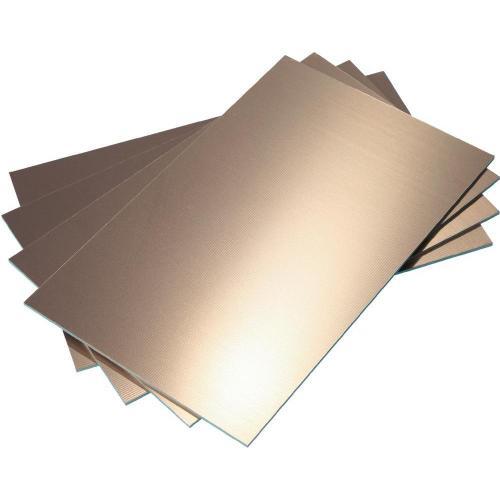 Cuprextit Bungard 030306E75, tvrzený papír, jednostranný, 100 x 100 x 1,5 mm