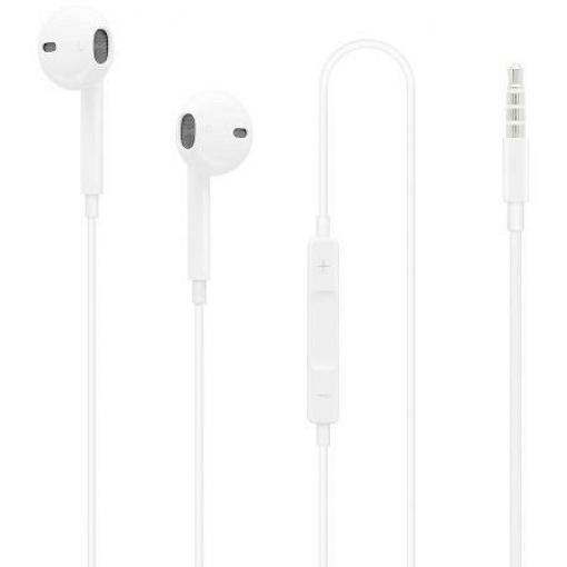 Headset Apple EarPods MD827ZM/A, bílá