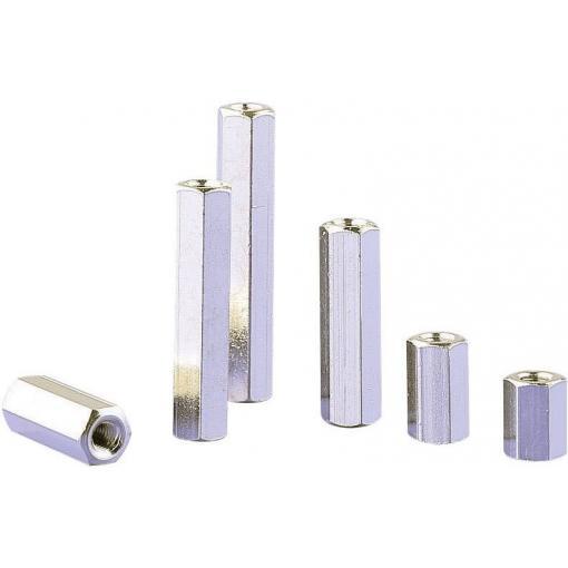 Závit M4 vnitřní/vnější, otvorklíče 7, délka 20 mm