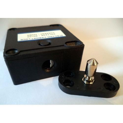 Elektrický čepový MINI bezpečnostní zámek pro kabinu / skříňku / úschovnu, CB serie (SE-301)