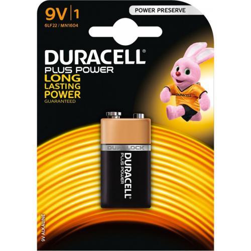 Duracell plus 9V 1604