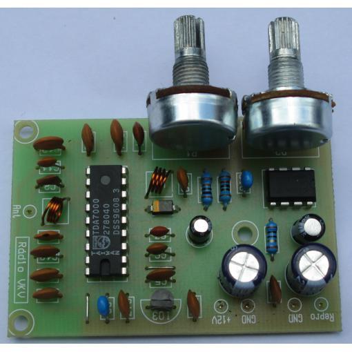 Malé rádio FM (VKV) s TDA7000