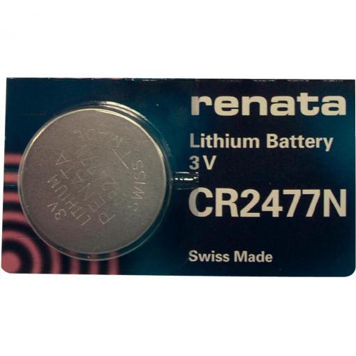 Knoflíková baterie Renata CR 2477N, lithium, 700391