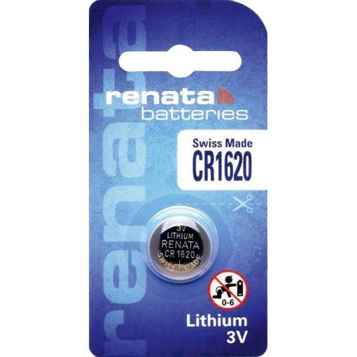 Knoflíková baterie Renata CR 1620, lithium, 700291