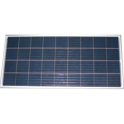 Solární panel 12V/150W, poškozený hliníkový roh, sklo OK