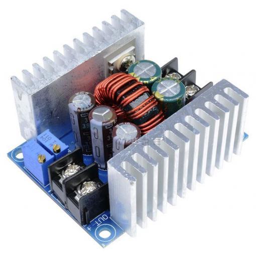 Napájecí modul, step-down měnič 6-40V/1,5-35V 20A