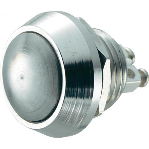 Tlačítko antivandal TRU COMPONENTS GQ 12B-N, 48 V/DC, 2 A, 1 ks