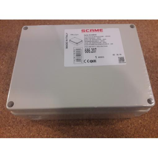 Krabice SCAME SCABOX 686.207 IP56 190x140x70mm