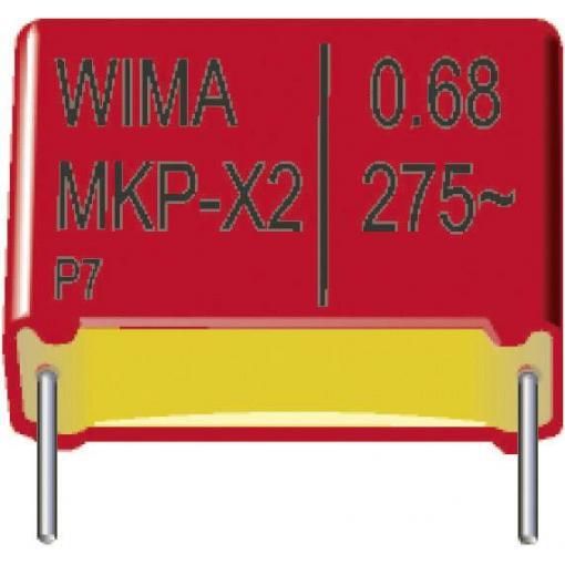 Odrušovací kondenzátor MKP-X2 Wima MKP-X2 0,47uF 10% 275V RM22,5 P:3,5 radiální, 0.47 µF, 275 V/DC,10 %, 22.5 mm, (d x š x v) 26.5 x 8.5 x 18.5 mm, 1 ks