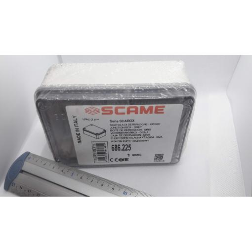 Krabice SCAME 686.225 SCABOX 120 x 80 x 50 mm