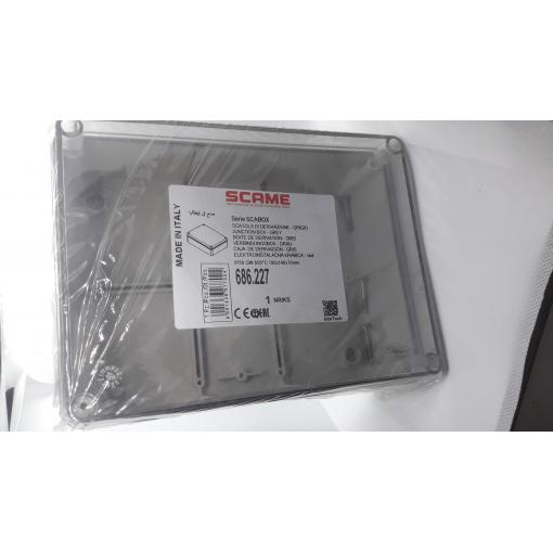Krabice SCAME 686.227 SCABOX 190 x 140 x 70mm