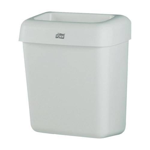 Odpadkový koš TORK System B2, 430 mm, 20 l, bílá