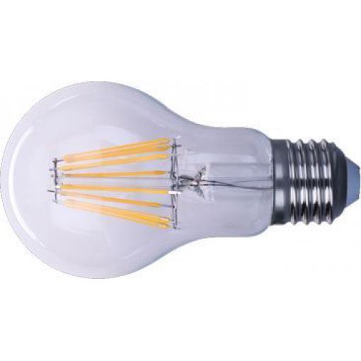 Žárovka LED E27 8x Filament 230V/8W, bílá