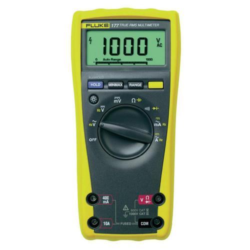Digitální multimetr Fluke 177, 0,1 Ω - 50 MΩ, 0,01 Hz - 100 kHz, 1 nF - 10000 µF