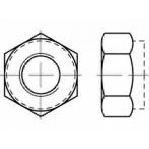 Šestihranné matice TOOLCRAFT TO-5440173, M8, N/A, 1000 ks