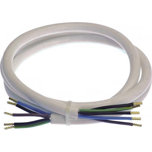 Napájecí kabel as - Schwabe 70866, bílá, 3.00 m
