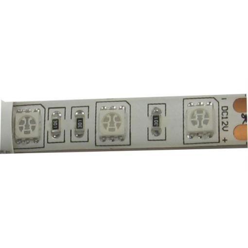 LED pásek GROW 12V 10mm plnospektrální, 60x LED5050/m, IP20, modul 5cm