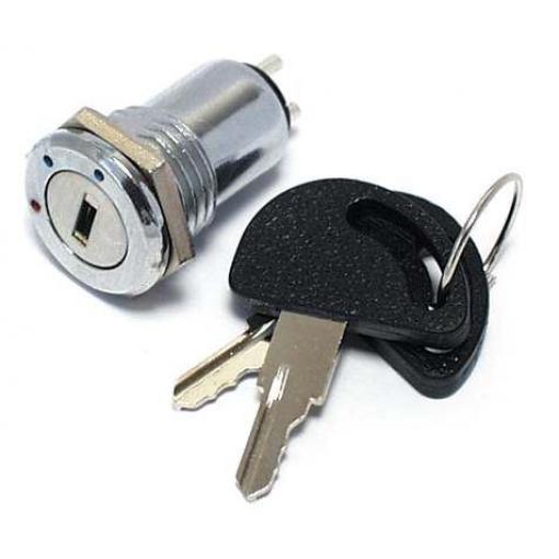 Přepínač s klíčem OFF-ON-ON 0,5A          P-B0961