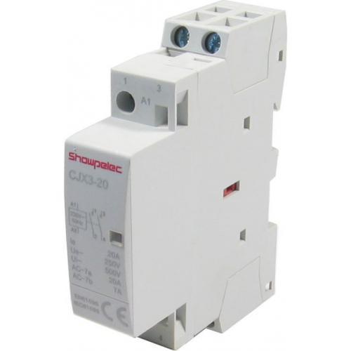 Stykač CJX3-20 230V/20A 2P na DIN lištu