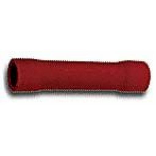 Spojka-dutinka izolovaná červená (BV1,25)
