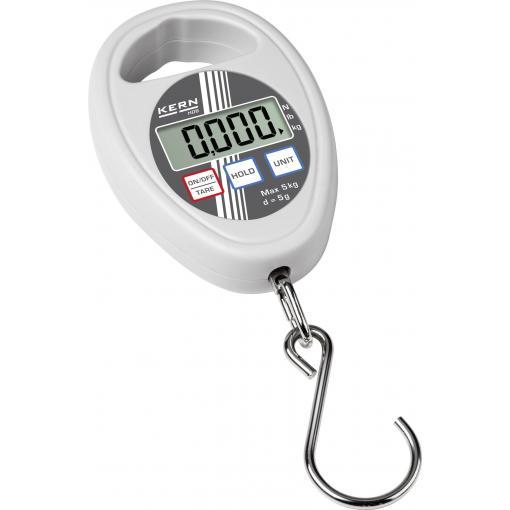 Závěsná váha Kern Max. váživost 10 kg Rozlišení 10 g